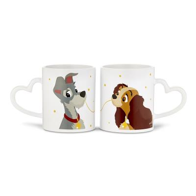 Disney Lady and the Tramp Mr & Mrs matching Gift Set