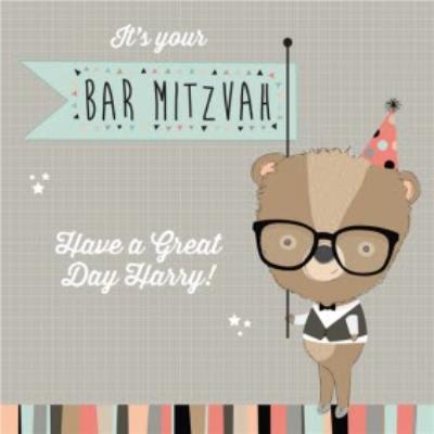 Happy Bar Mitzvah Card