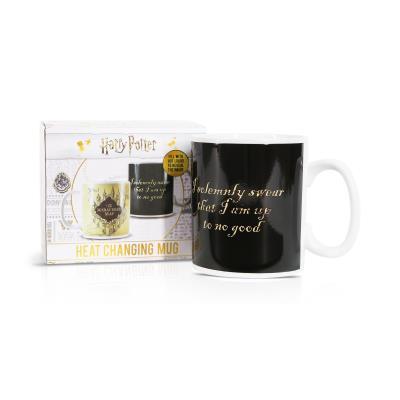 Mug Heat Changing (400ml) - Harry Potter (Marauder's Map)