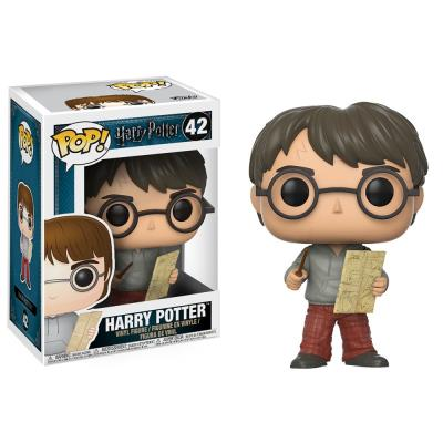 Harry Potter With Marauders Map Action Figure