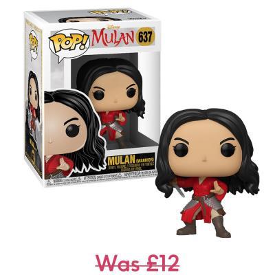 Disney Warrior Mulan POP! Vinyl