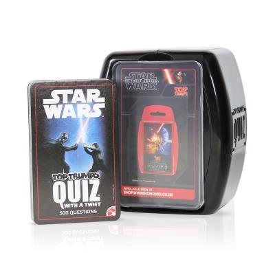Star Wars Top Trumps Quiz