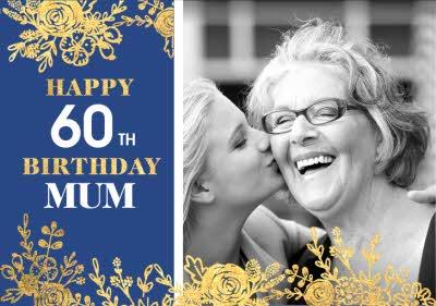 Le Jardin De Fleur Photo upload Birthday Card for Mum