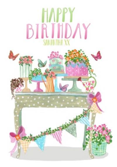 Personalised Birthday Card For Mum