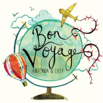 Bon Voyage card - going travelling - world globe