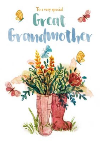 To a very special Great Grandmother - Mother's Day Card