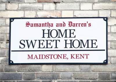 Home Sweet Home - New Home Card