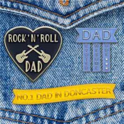 Rock 'N' Roll Personalised Father's Day Card