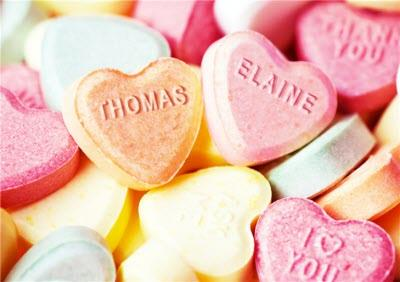 Personalised Love Heart Photo Card