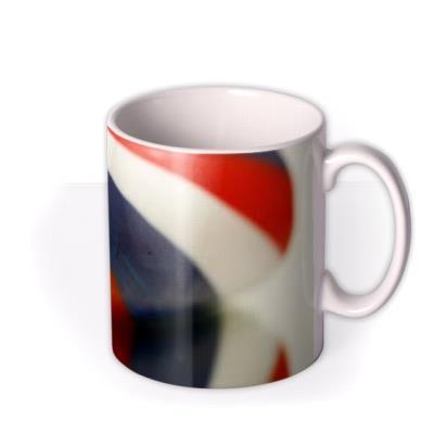 Say Anything Stick Rock Personalised Mug