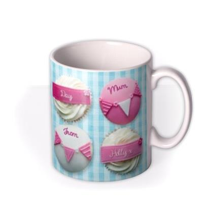 Mother's Day Cupcakes Personalised Mug