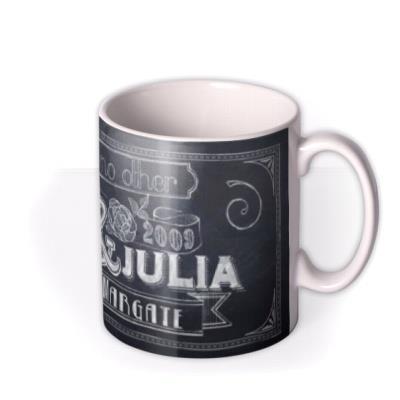 Chalk Love Like No Other Personalised Mug