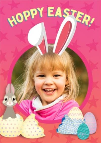 Hoppy Easter Photo Upload Easter Card