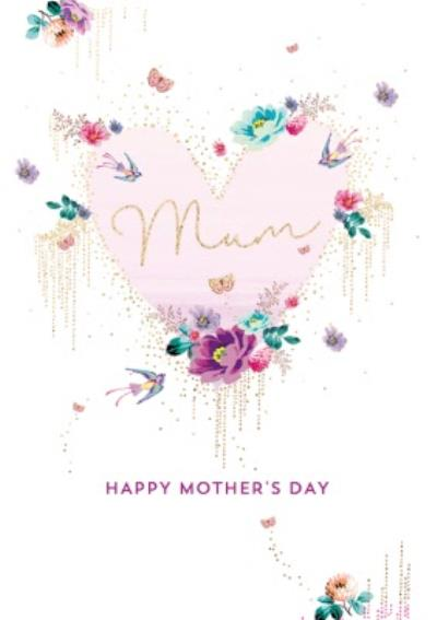Traditonal Floral Mother's Day Card