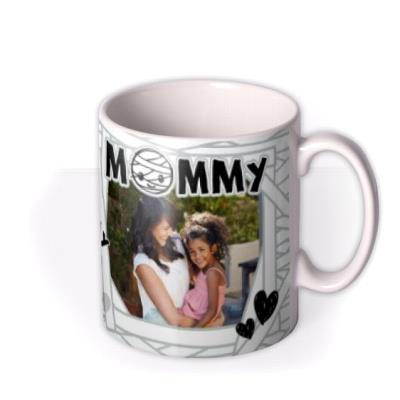 Little Monsters From The Kids To Mommy Photo Upload Mug