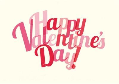 Bright Happy Valentine's Day Card