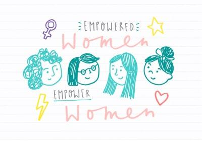 Empowered Women Card - International Women's Day Card - Just Because