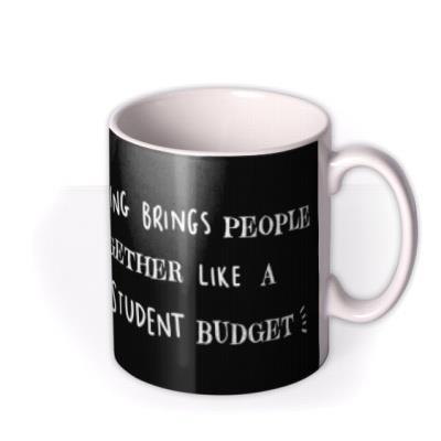 Funny Student Budget Drinking Retro Mug