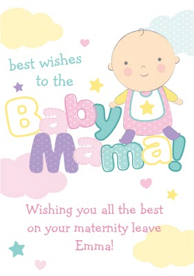 Pregnancy Cards Personalised Pregnancy Cards Moonpig