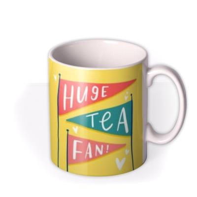 Lucy Maggie Huge Tea Fan Flags Mug