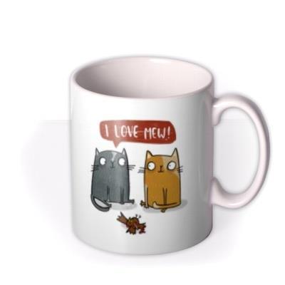 Lucy Maggie 2 Cats I Love Mew Mug