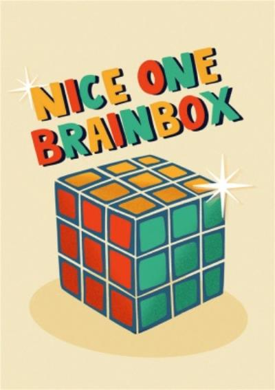 Nice One Brainbox Card