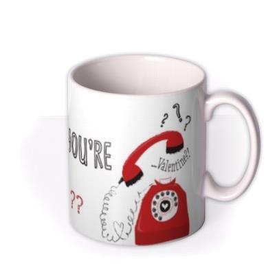 Valentine's Day Hello Personalised Mug