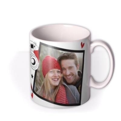 Valentine's Day Click Camera Personalised Mug