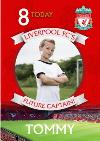 Liverpool FC Birthday Card -  Liverpool FC'S Future Captain