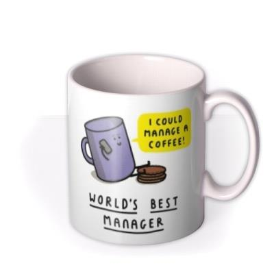 World's Best Manager Funny Pun Mug