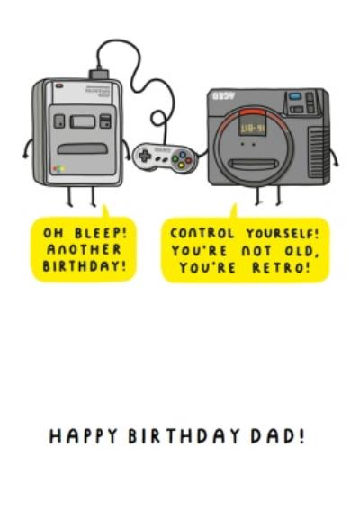 Mungo And Shoddy You're not Old Birthday Gaming Card