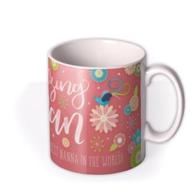 Mother's Day Amazing Nan Personalised Mug