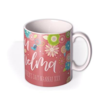Mother's Day Grandma Personalised Mug