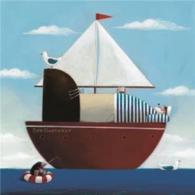 Sail Away Personalised Bon Voyage Card