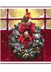 Traditional Art Christmas card
