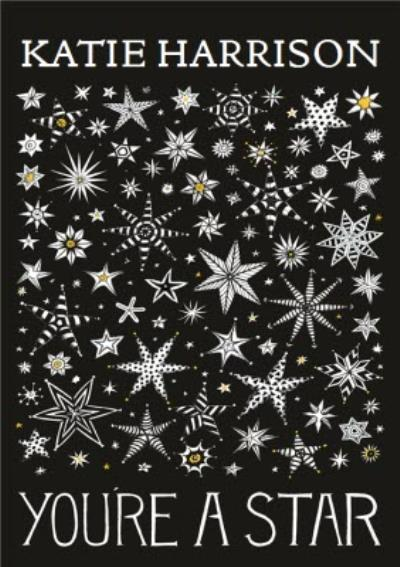 Black And White You're A Star Personalised Greetings Card