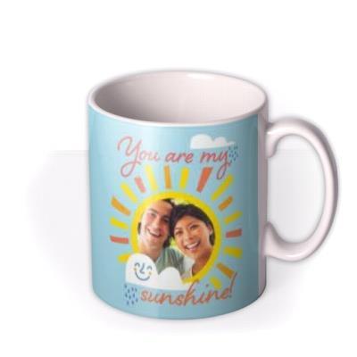 You Are My Sunshine Cute Photo Upload Mug