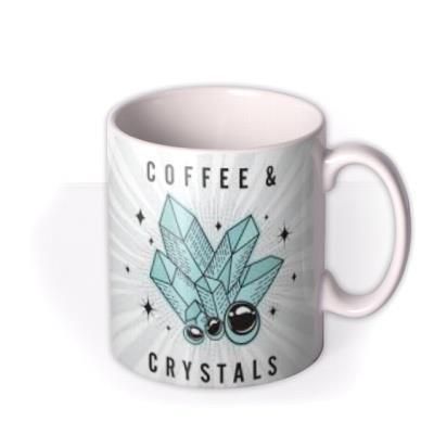 Mystic Coffee & Crystals Photo Upload Mug