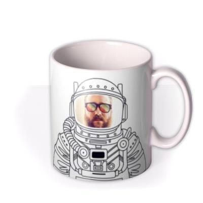 I Like Space Man Photo Upload Mug