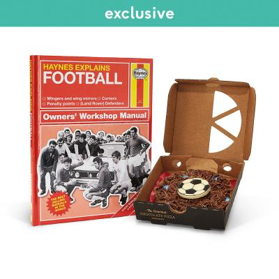 Mini Chocolate Pizza & Football Book Gift Set