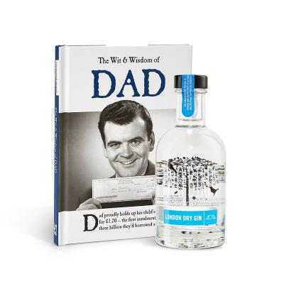 Dry Gin and Book Gift Set