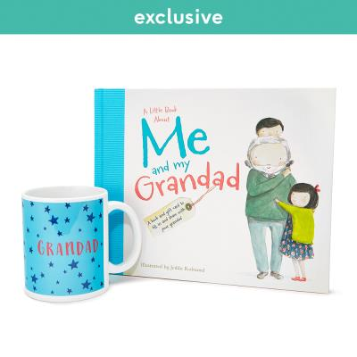 About Me and My Grandad Book and Mug Gift Set.