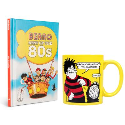Beano Best of the 80s Book & Mug Set