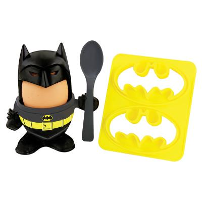 Batman Egg Cup and Batwing Toast Cutter