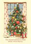 Christmas Tree Scene Personalised Card