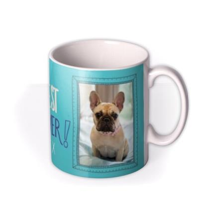 Mother's Day Best Pet Mum Photo Upload mug