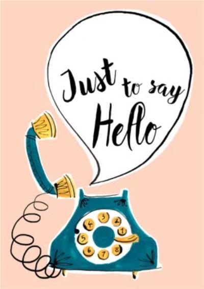 My Dear Friend Jenny Hello Personalised postcard