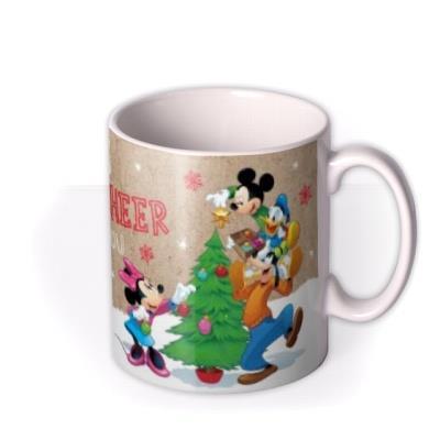 Disney Mickey Mouse And The Gang Christmas Mug