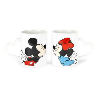 Mickey and Minnie Mouse Matching Mug Set