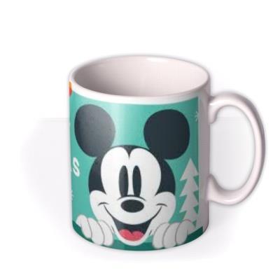 Disney Mickey Mouse Merry Christmas Mug